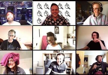 ea virtual team building online trivia